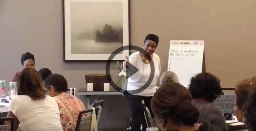 2018 Peace in Stormy Weather Women's Retreat Recap Video